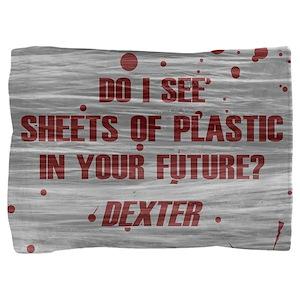 DEXTER PLASTIC SHEETS Pillow Sham