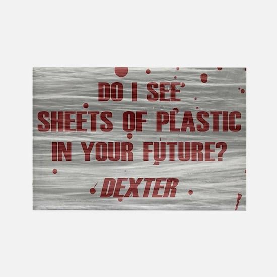 DEXTER PLASTIC SHEETS Rectangle Magnet