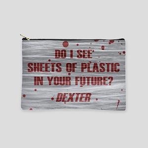 DEXTER PLASTIC SHEETS Makeup Bag