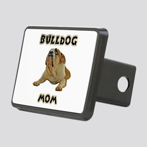 Bulldog Mom Rectangular Hitch Cover