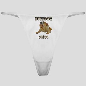 Bulldog Mom Classic Thong