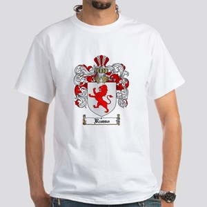 Russo Coat of Arms White T-Shirt