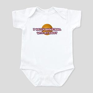 Detroit Basketball Daddy Infant Bodysuit