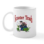 Scooter Trash Mug