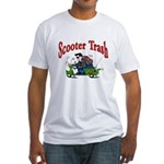 Scooter Trash Fitted T-Shirt