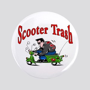 """Scooter Trash 3.5"""" Button"""