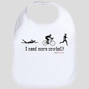 I need more cowbell triathlon Bib