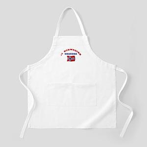 #1 Norwegian Grandma BBQ Apron