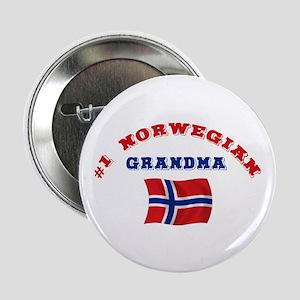 "#1 Norwegian Grandma 2.25"" Button"