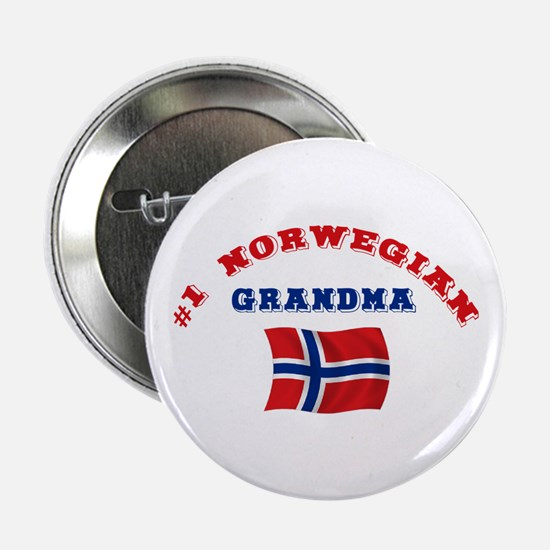 "#1 Norwegian Grandma 2.25"" Button"