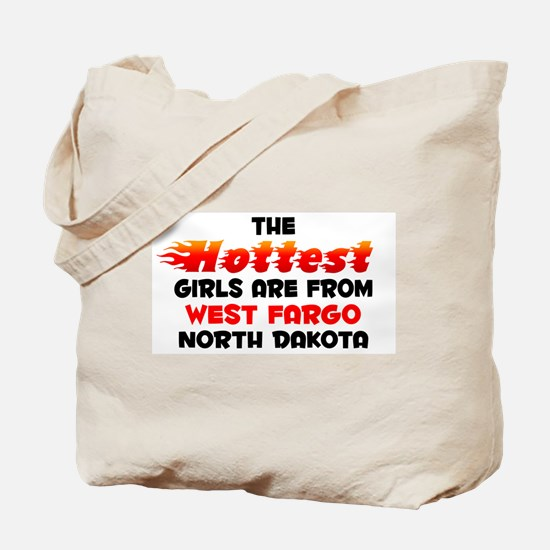 Hot Girls: West Fargo, ND Tote Bag