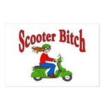 Scooter Bitch Postcards (Package of 8)