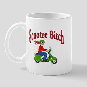 Scooter Bitch Mug