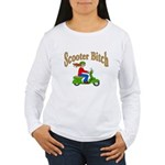 Scooter Bitch Women's Long Sleeve T-Shirt