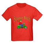 Scooter Bitch Kids Dark T-Shirt