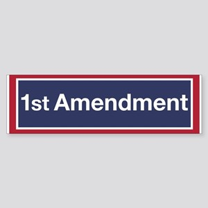 First Amendment (bumper) Bumper Sticker