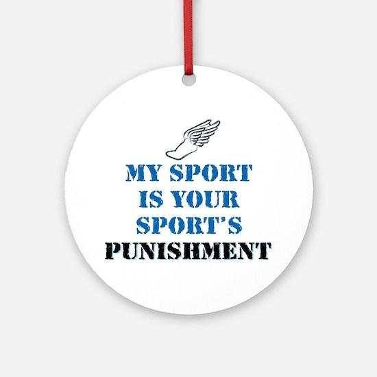Running - Punishment Ornament (Round)