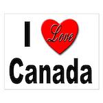 I Love Canada Small Poster