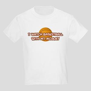 Miami Basketball Mommy Kids Light T-Shirt