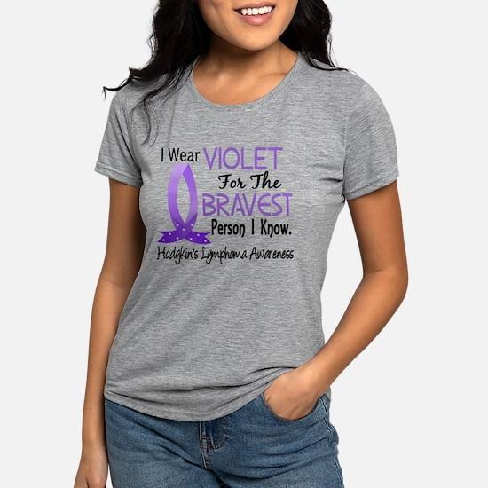 Bravest I Know Hodgkin's Lymphoma T-Shirt