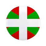 "Basque Flag 3.5"" Button (100 pack)"