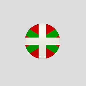 Basque Flag Mini Button