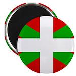 """Basque Flag 2.25"""" Magnet (10 pack)"""