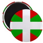 "Basque Flag 2.25"" Magnet (100 pack)"