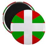 """Basque Flag 2.25"""" Magnet (100 pack)"""