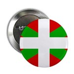 "Basque Flag 2.25"" Button"