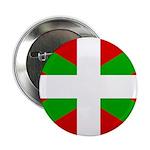 """Basque Flag 2.25"""" Button"""