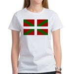 Basque Flag Women's T-Shirt