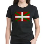 Basque Flag Women's Dark T-Shirt