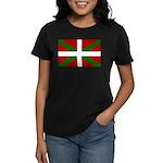 Basque Flag Women's Dark T-Shirt