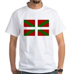 Basque Flag White T-Shirt