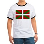 Basque Flag Ringer T