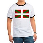 Basque Flag Ringer T
