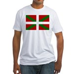 Basque Flag Fitted T-Shirt