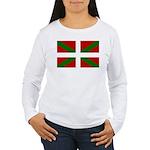 Basque Flag Women's Long Sleeve T-Shirt
