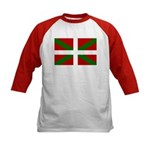 Basque Flag Kids Baseball Jersey