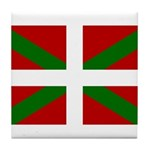 Basque Flag Tile Coaster