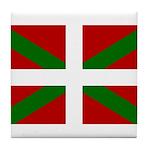 Basque Flag Tile Coaster