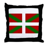 Basque Flag Throw Pillow