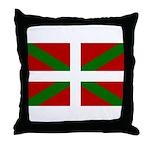 Basque Flag Throw Pillow