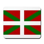 Basque Flag Mousepad