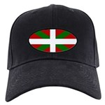 Basque Flag Black Cap