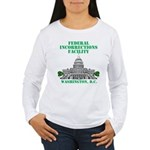 Incorrections Facility Women's Long Sleeve T-Shirt