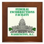 Incorrections Facility Framed Tile
