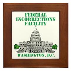 Incorrections Facility Framed Tile