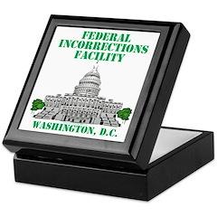 Incorrections Facility Keepsake Box